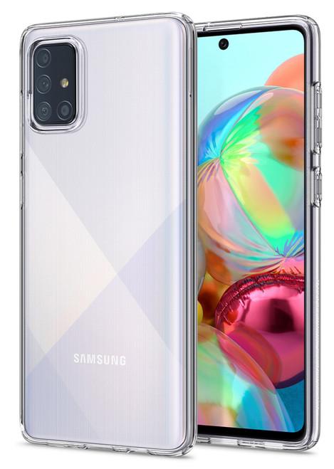 Galaxy A71 Crystal Clear Premium Soft Gel Back Case