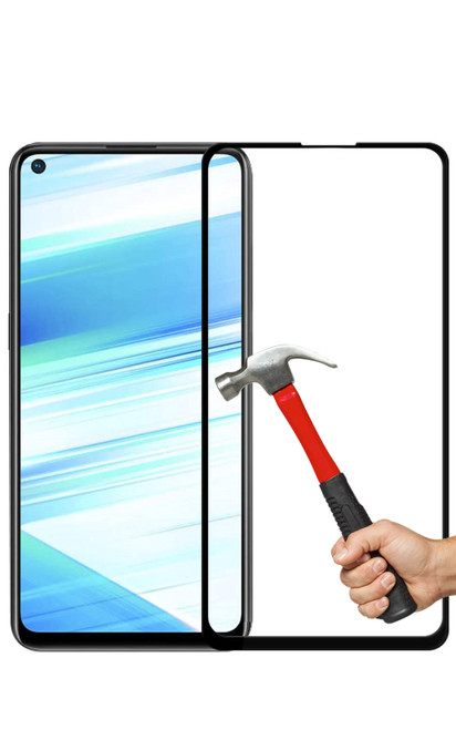 2x OPPO A72 Premium Full Cover 9H Tempered Glass Screen Protectors