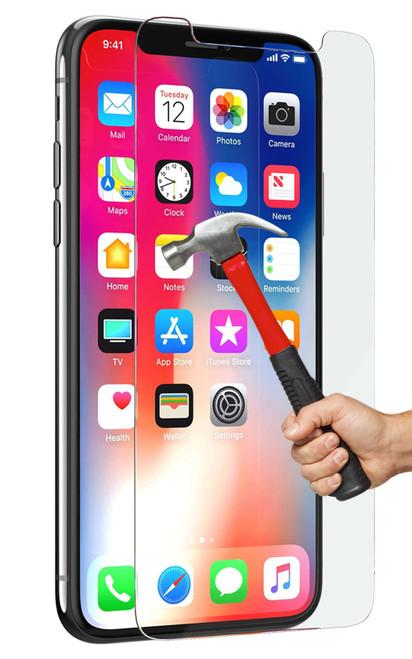 "2x iPhone XR (6.1"") Premium 9H Tempered Glass Screen Protectors"