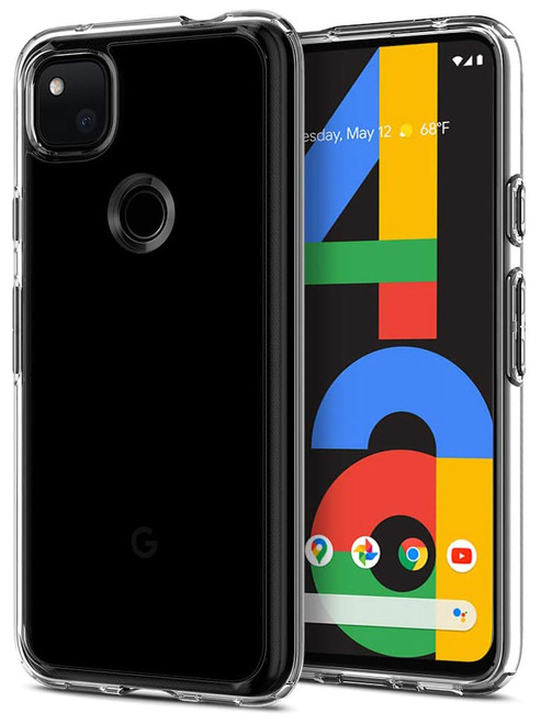 "Google Pixel 4a (5.8"") Crystal Clear Premium Soft Gel Back Case"