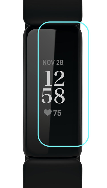 3x Premium Ultra Clear Screen Protector Film for Fitbit Inspire 2