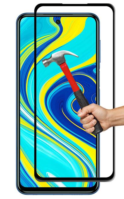 2x Xiaomi Redmi Note 9S Premium Full Cover 9H Tempered Glass Screen Protectors