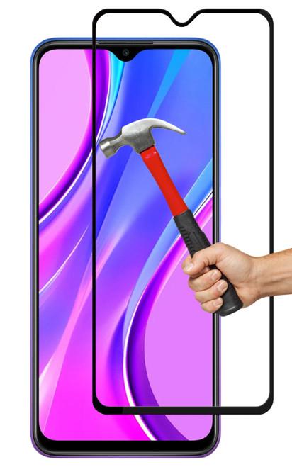 2x Xiaomi Redmi 9 Premium Full Cover 9H Tempered Glass Screen Protectors