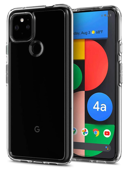 "Google Pixel 4a 5G (6.2"") Crystal Clear Premium Soft Gel Back Case"