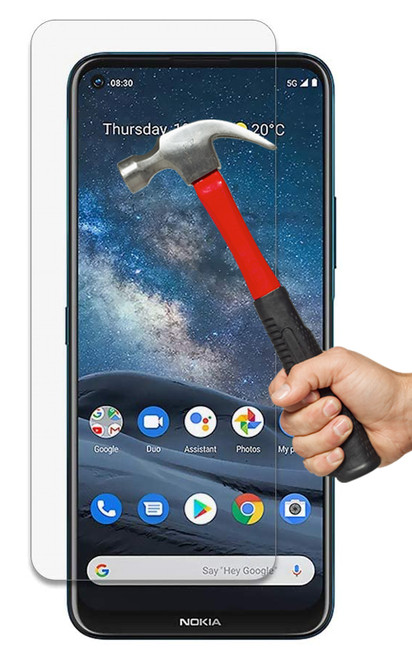 2x Nokia 8.3 5G Premium 9H Tempered Glass Screen Protectors