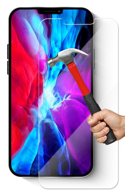 "2x iPhone 12 Pro (6.1"") Premium 9H Tempered Glass Screen Protectors"