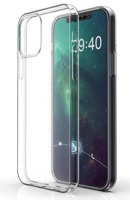 "Apple iPhone 12 Pro (6.1"") Crystal Clear Soft TPU Gel Case"