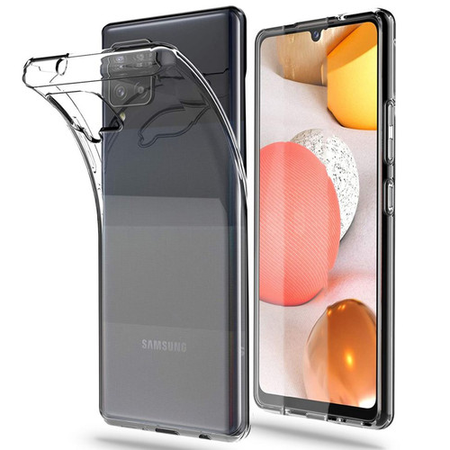 Galaxy A42 5G Crystal Clear Premium Soft Gel Back Case