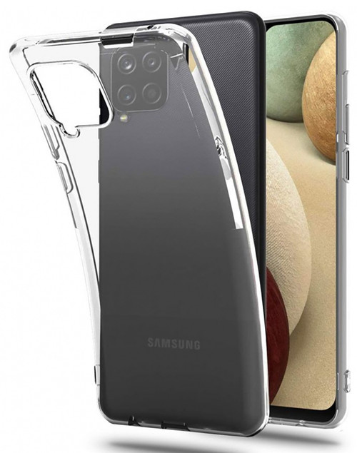 Galaxy A12 Crystal Clear Premium Soft Gel Back Case