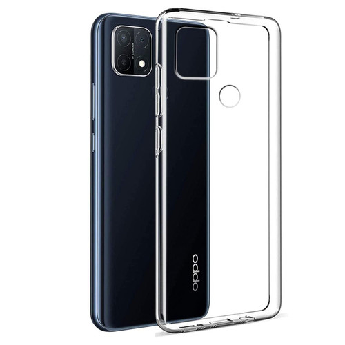 OPPO A15 Crystal Clear Premium Soft Gel Back Case