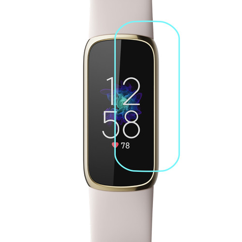 3x Premium Ultra Clear Screen Protector Film for Fitbit Luxe