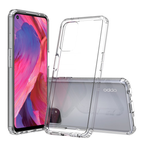 OPPO A74 5G Crystal Clear Premium Soft Gel Back Case Protector
