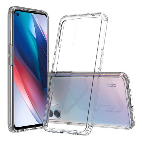 OPPO Find X3 Lite Crystal Clear Premium Soft Gel Back Case Protector