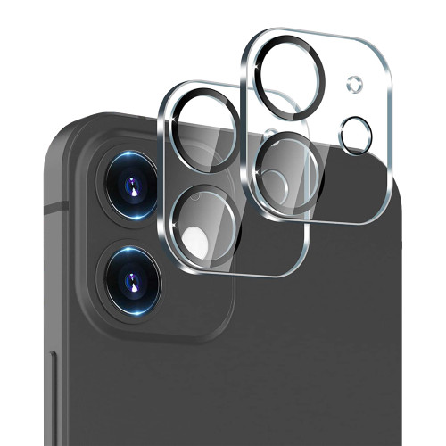 """2x Premium Full Coverage Camera Lens Tempered Glass for Apple iPhone 12 (6.1"""")"""