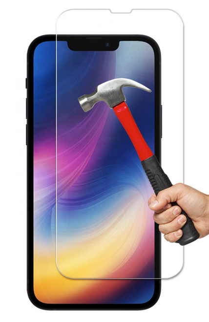 "2x iPhone 13 Mini (5.4"") Premium 9H 2.5D Tempered Glass Screen Protectors"