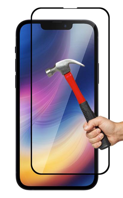 "2x iPhone 13 Mini (5.4"") Premium Full Cover 9H Tempered Glass Screen Protectors"