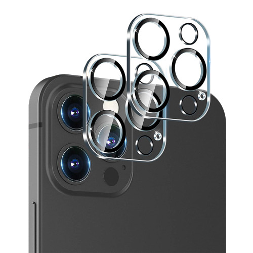 """2x Premium Full Coverage Camera Lens Tempered Glass for Apple iPhone 13 Pro Max (6.7"""")"""