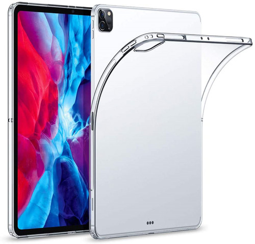 """Crystal Clear Soft TPU Gel Back Case for Apple iPad Pro 12.9"""" (2021)"""