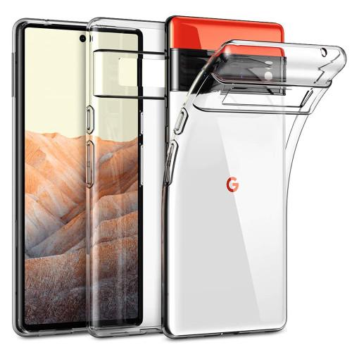 """Google Pixel 6 Pro (6.7"""") Crystal Clear Premium Soft Gel Back Case"""