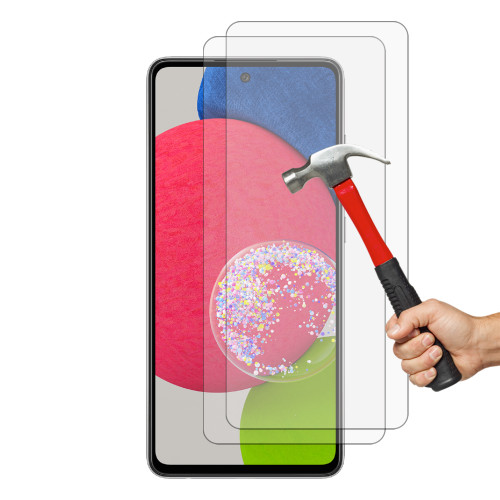 2x Galaxy A52s 5G Premium 9H HD Tempered Glass Screen Protectors