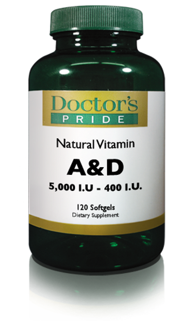 VITAMIN A & D SOFTGELS. (1040D)