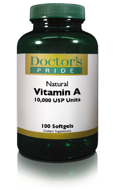 Vitamin A Softgels 10.000 USP Units (1020D)