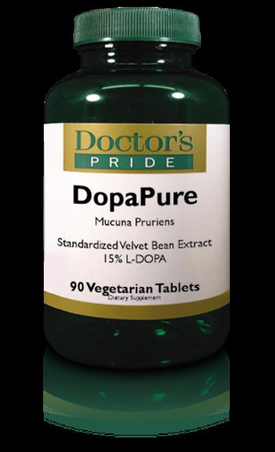 DOPAPURE 400 MG MUCUNA PRURIENS (Velvet Bean Extract). (AB4020D)
