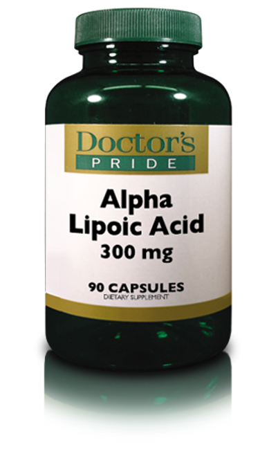 Alpha Lipoic Acid 300 MG with Biotin (AB0590D)