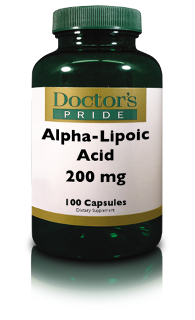 ALPHA LIPOIC ACID 200 MG (ALA) WITH BIOTIN. (A9460D)
