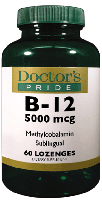 B-12 5000 MCG SUBLINGUAL (Methylcobalamin). (AB7080D)