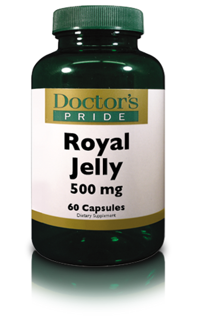 ROYAL JELLY 500 Mg Capsules. (A0440D)