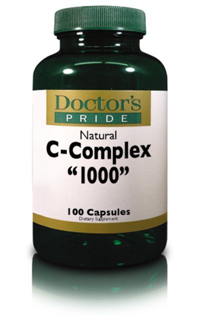 C-1000 Complex Capsules with Rose Hips & Bioflavonoids (8110D)