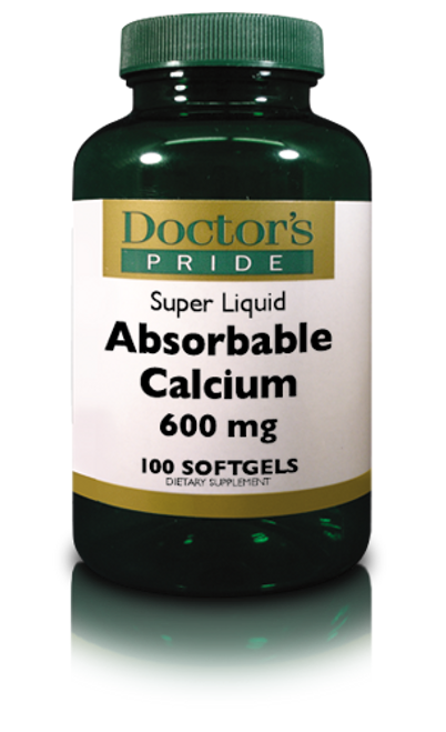 Absorbable Calcium 600 MG Softgels Plus Vitamin D 500 IU (AB0040D)