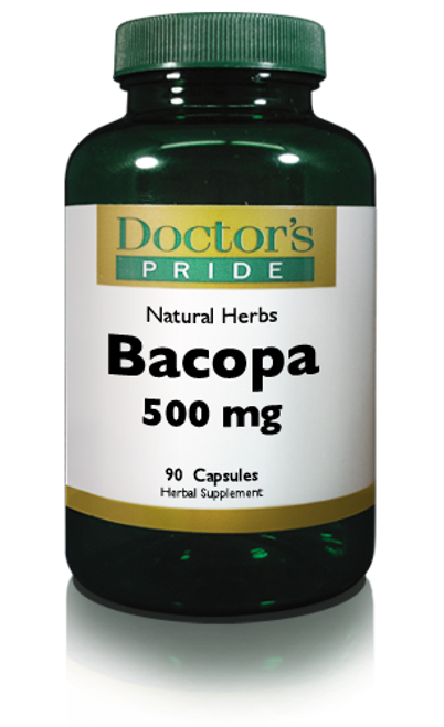 BACOPA MONNIERI LEAF EXTRACT 500 MG. (AB7340D)