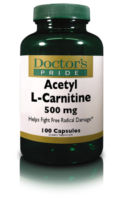 Acetyl L-Carnitine- 500 MG (A9450D)
