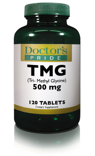 TMG TRIMETHYLGLYCINE 500 MG TABLETS. (AB2384D)