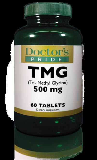 TMG TRIMETHYLGLYCINE 500 MG TABLETS. (AB2381D)