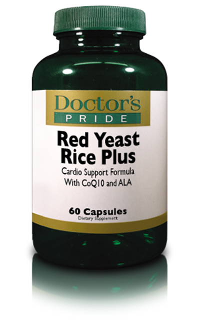 Red Yeast Rice 600 MG Plus Alpha Lipoic & CoQ10 (AB0010D)