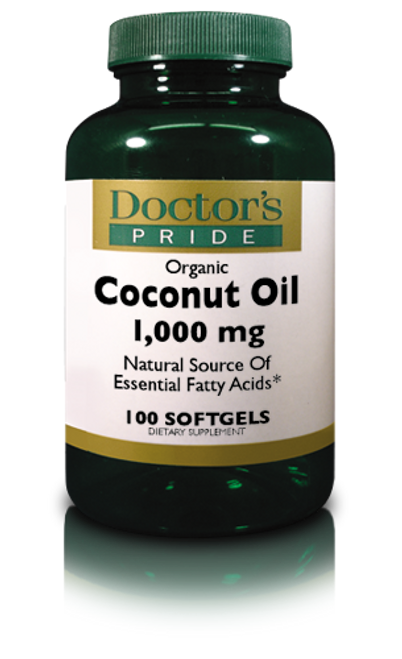 ORGANIC COCONUT OIL 1000 MG. (AB0490D)
