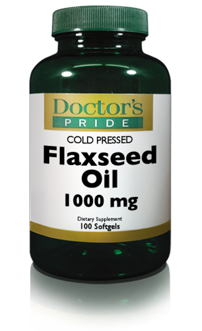 FLAX SEED OIL 1000 MG. (9650D)