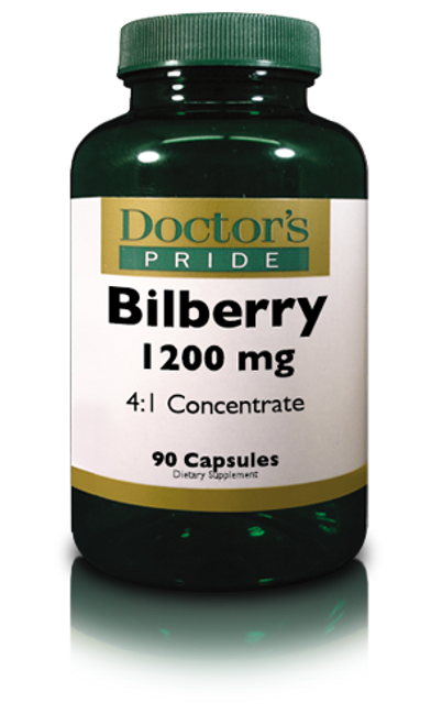 BILBERRY 1200 MG CAPSULES. (A8750D)