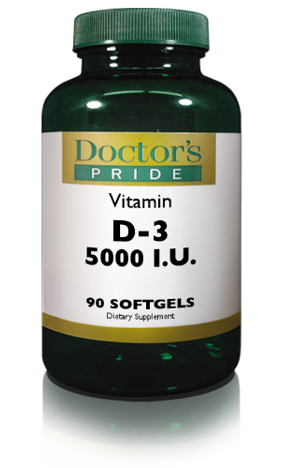 VITAMIN D-3 (CHOLECALCIFEROL) 5000 IU SOFTGELS. (AB1030D)