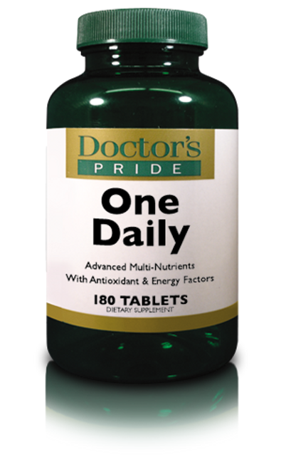 Doctors Pride Total One Daily (iron free) - 180 Tablets (3664D)