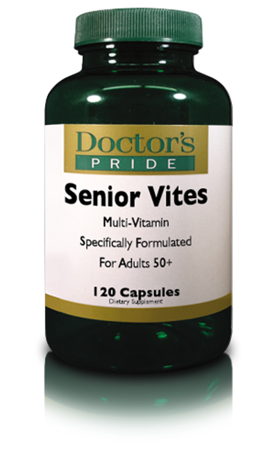 Senior Vites For Adults 50+ (120 Capsules) (A9072D)