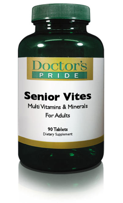 SENIOR VITES For Adults 50+. (A9070D)