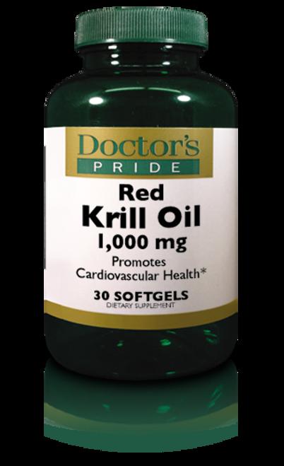 Krill Oil 1000 MG (Red Krill Softgels) - 30 Softgels (AB7170D)