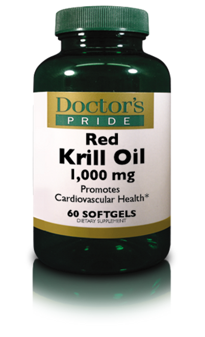 Krill Oil 1000 MG (Red Krill Softgels) - 60 Softgels (AB7171D)