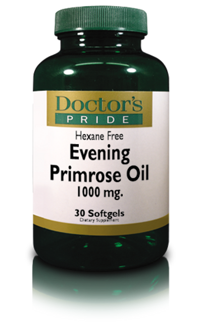 Super Evening Primrose 1000 MG - 30 Softgels (9760D)
