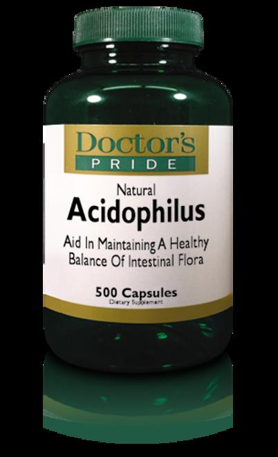 Acidophilus Capsules - 500 Capsules (2615D)