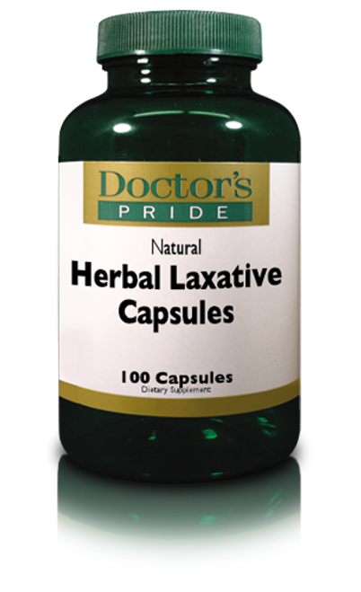 Herbal Laxative Capsules (2180D)